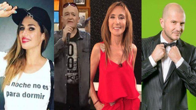 Álvaro Navia, Gladys Florimonte, Belén Francese y Andrés Teruel llevan a Albertito a Carlos Paz