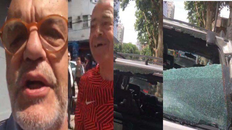 Juan Leyrado, víctima de un violento episodio en plena calle