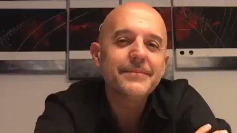 El video que grabó el Pelado López después de su operación