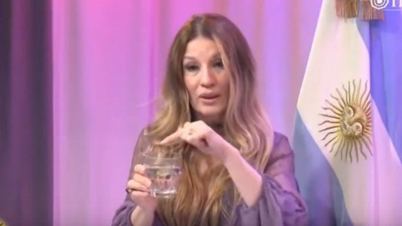 La reacción de los famosos al aberrante video de Gisela Barreto usando un vaso