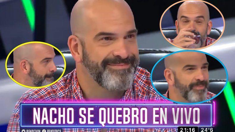 El llanto de Nacho Goano por culpa de Nicolás Cabré
