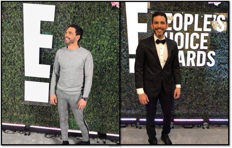 Así fue la noche de alfombra roja de Ronen Suarc en los E! People Choice Awards en Los Ángeles