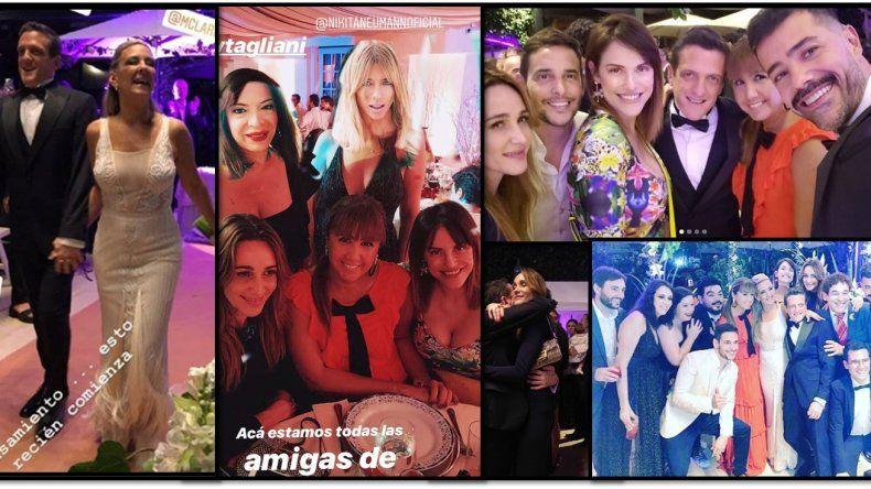 Mi gran casamiento mixto: boda judía y católica para Mauro Szeta y Clarissa; fiesta, baile, famosos y paradisíaca luna de miel