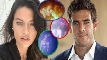 romance explosivo: juan martin del potro y sofia jujuy gimenez