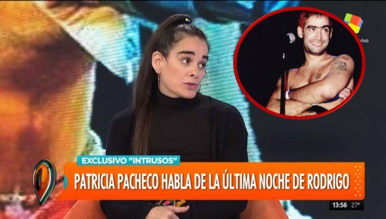 Patricia Pacheco dio detalles de la noche en la que murió Rodrigo: Paró la camioneta para drogarse