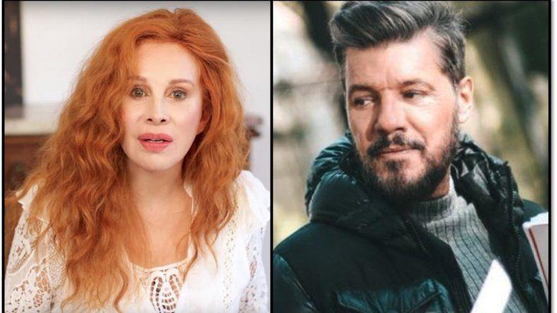 Nacha Guevara opinó sobre una eventual candidatura de Tinelli: No se tiene que meter en política