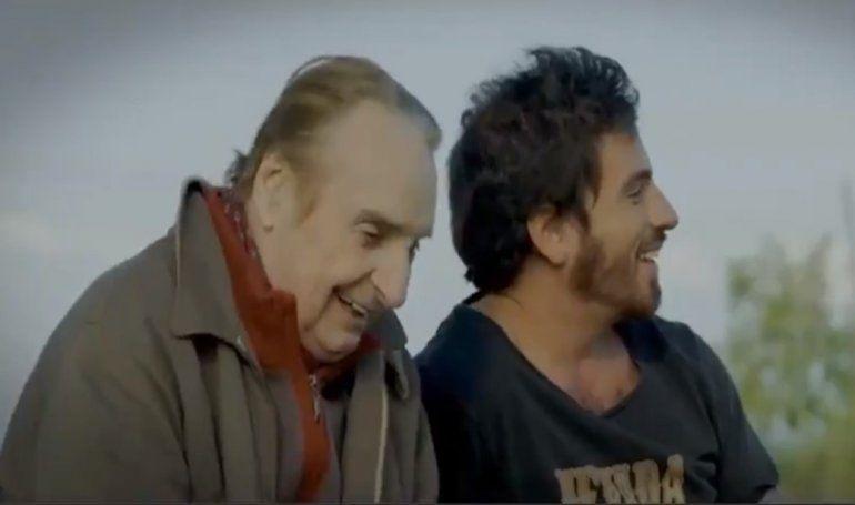 Fede Bal presentó el trailer de su primera película, que protagonizó con su papá: Rumbo al mar