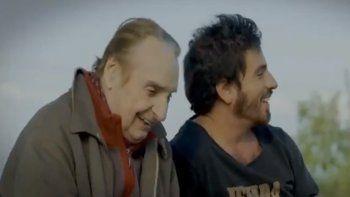fede bal presento el trailer de su primera pelicula, que protagonizo con su papa: rumbo al mar