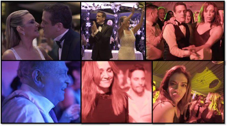 El video del casamiento de Mauro Szeta y Clarissa: baile y diversión lleno de famosos