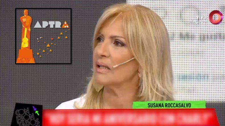 ¿Susana Roccasalvo, la nueva presidenta de Aptra?