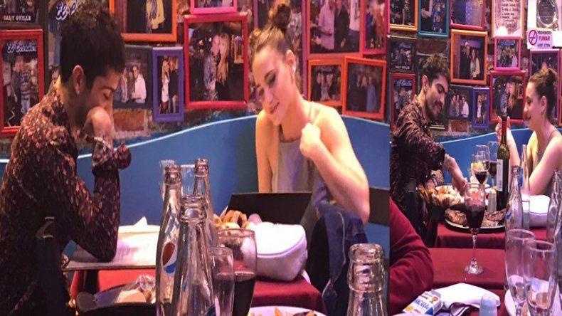 Las fotos de la salida romántica de Rodrigo Romero, el ex de Jimena Barón, y su nueva novia