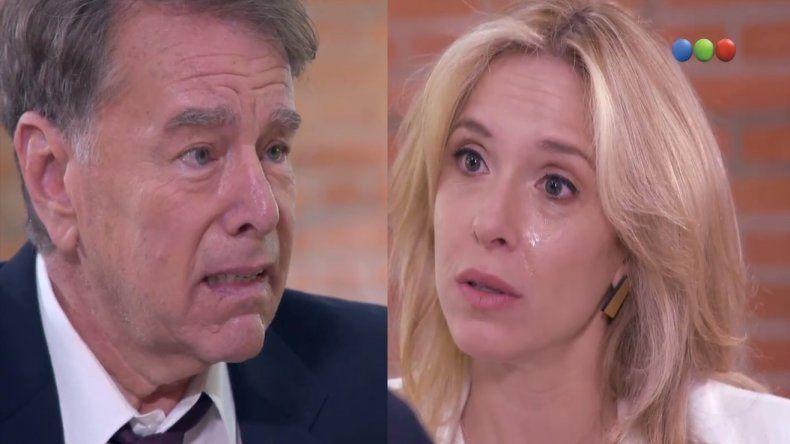 La dramática y emotiva escena de 100 días para enamorarse entre Carla Peterson y Mario Pasik que hizo llorar a todos