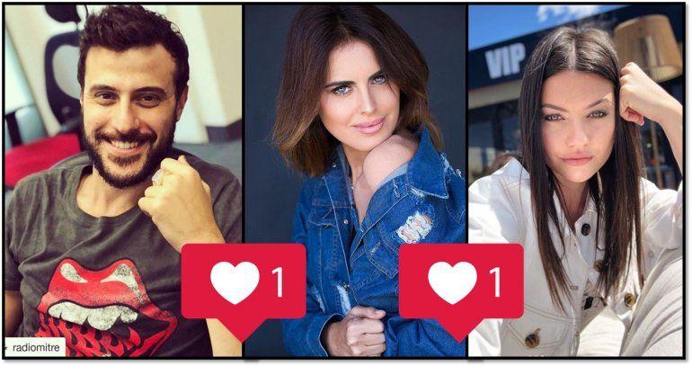 Silvina Luna y Jujuy Giménez, inesperadas fanáticas de Diego Leuco en Instagram: lo llenan de likes