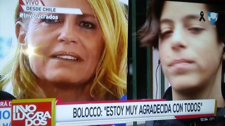 Bolocco habló de la visita de Menem; y lo que le dijo su hijo después de la operación: Mamá lo hice, no me morí