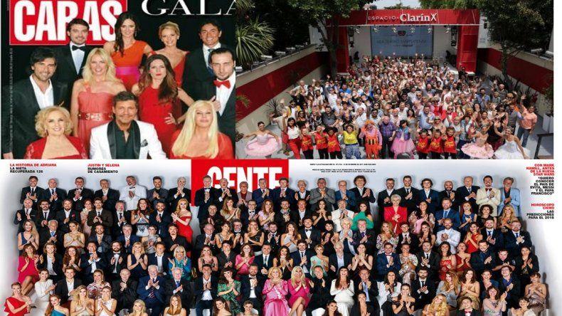 El día más cargado del año: hoy gala de Caras, Los personajes del año de Gente y la tapa de Clarín