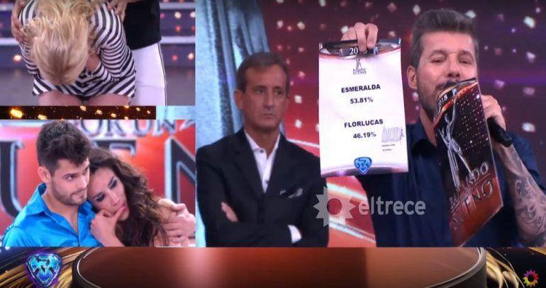 Por poquito, Esmeralda Mitre eliminó a Lucas Velasco y Flor Marcasoli