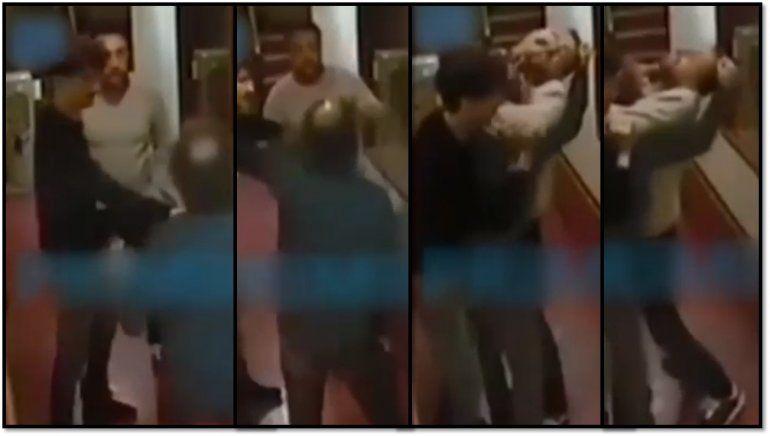 Aparece el video completo de la pelea a trompadas de Baby Etchecopar y Navarro: ¿por qué se filtra ahora?