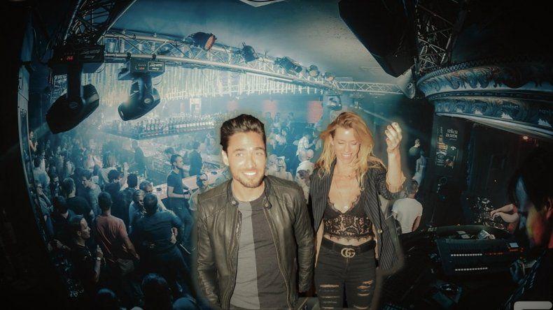 Nicole Neumann y su ex Tasín a los besos apasionados en Tequila: reecuentro caliente sin reconciliación