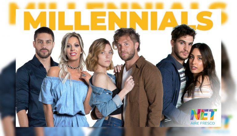 Así será Millenials, la nueva tira de la tele que arranca hoy: jugadas escenas de sexo y un elenco de Instagramers