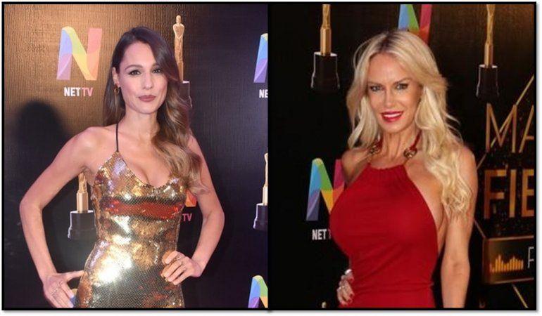 Pampita y Luciana Salazar; odio secreto: La modelo le pasó por al lado en la alfombra roja y la ninguneó