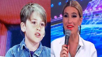 El hijo de Flor Peña no la quiere en el Bailando: Pampita es mejor