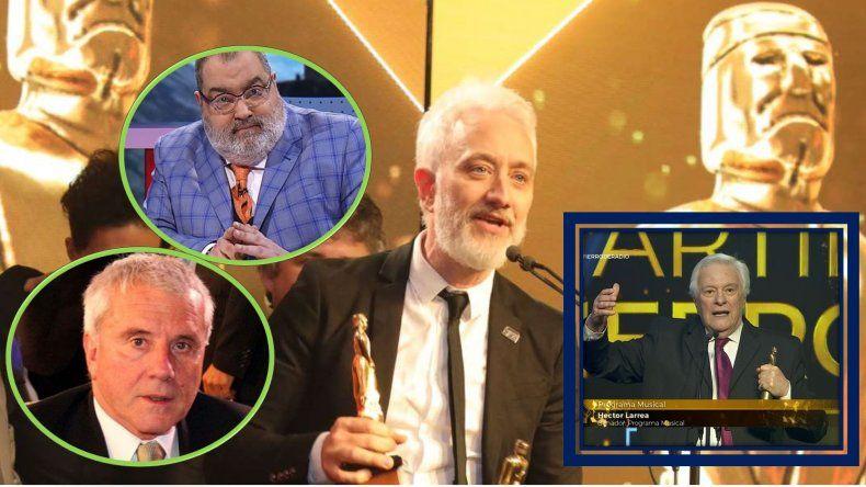 Lanata se sumó a Fernando Bravo en su crítica por el Martín Fierro de Oro: dicen que Andy no se lo merece y debieron dárselo a Larrea