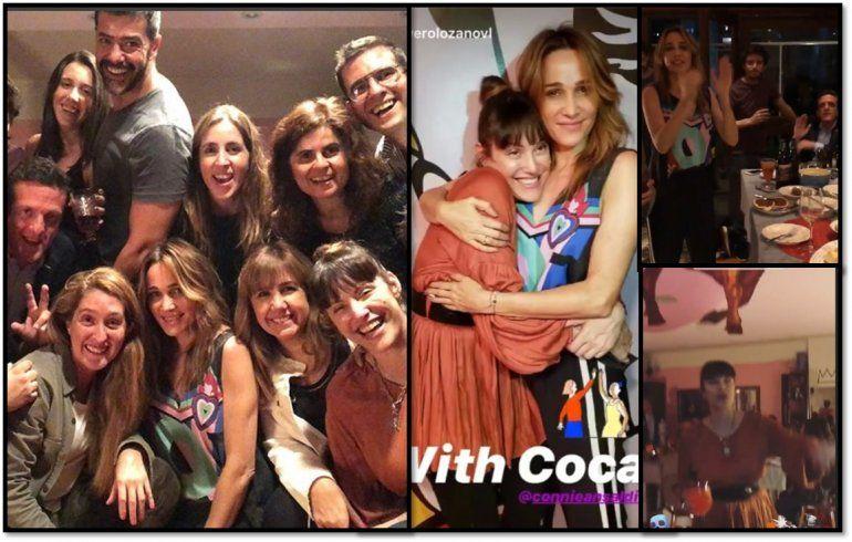 La despedida de Connie Ansaldi de Cortá por Lozano con todos sus compañeros, menos Nicole Neumann: ¿Por qué no fue?