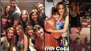La despedida de Connie Ansaldi de Cortá por Lozano con todos sus compañeros