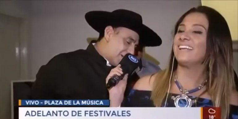 Escándalo - El Chaqueño Palavecino se desubicó con una notera: ¿Por cuantas camas pasó esa cola?