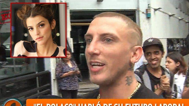 El Polaco le respondió a Calu Rivero, quien lo acusó de golpeador: No la conozco, no sé quién es
