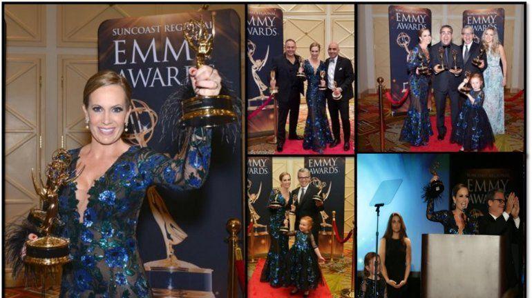 Natalia Denegri ganó cuatro premios Emmys y su hija Nicole fue la estrella de la noche