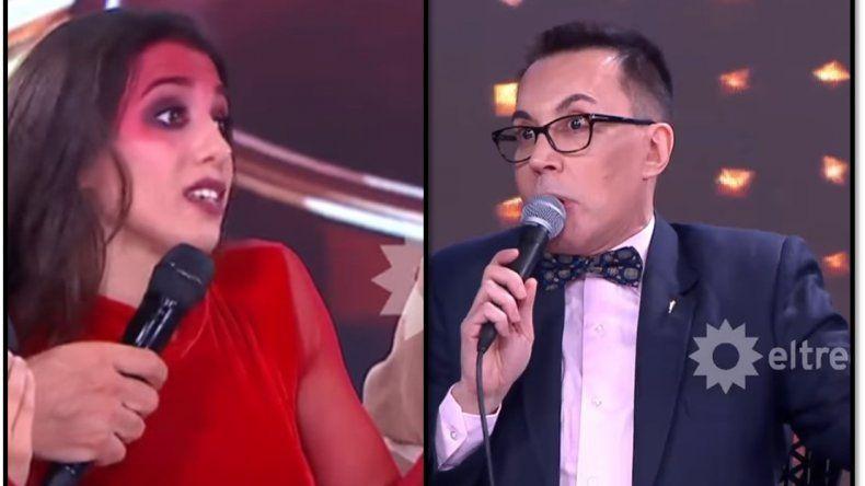 Noche de furia entre Cinthia Fernández y un Polino súper filoso: Sos casi ignorante, apenas terminaste la primaria