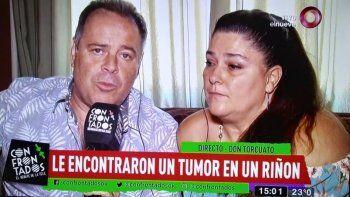 El drama de Carna: le diagnosticaron gastritis pero tenía un tumor