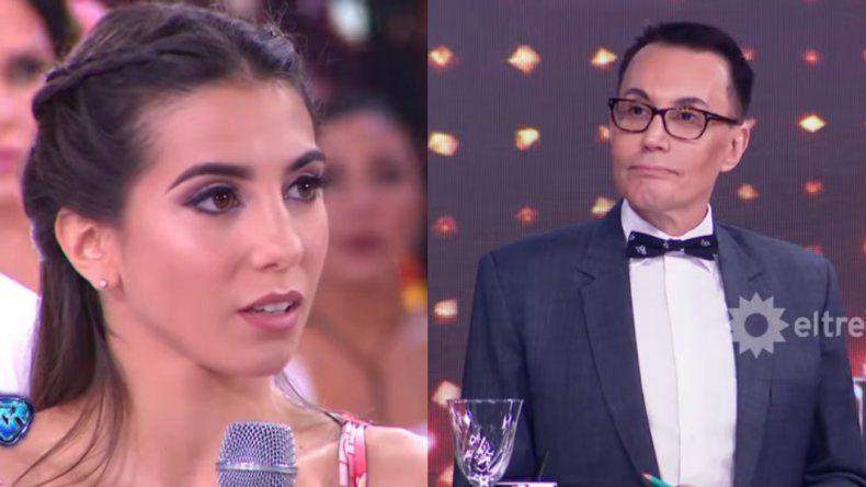 Después del fuerte cruce, Polino le pidió tibias disculpas a Cinthia Fernández y el jurado la salvó en el duelo