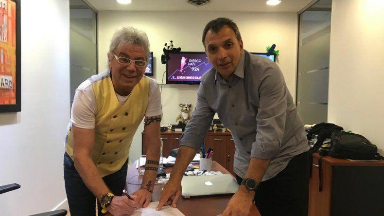 Beto Casella renovó contrato y sigue en El Nueve hasta el 2022