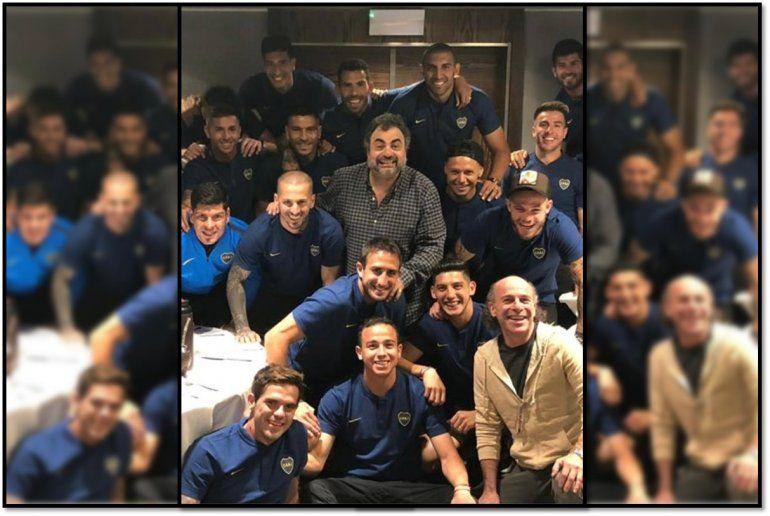 Roberto Moldavsky, cábala oficial de Boca, ya está en Madrid con el equipo