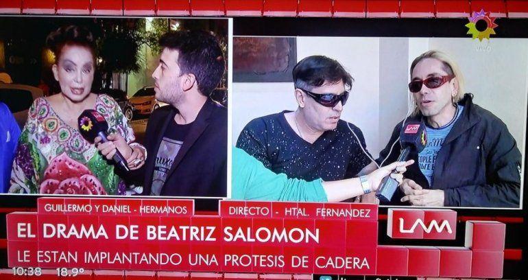 Operan a Beatriz Salomón: después del accidente, le colocan la prótesis de cadera
