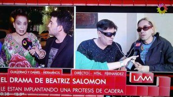 Operan a Beatriz Salomón: después del accidente