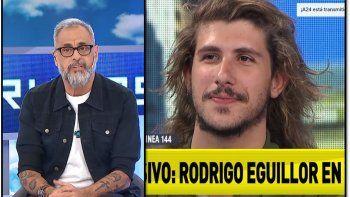 Rial contó la interna: ¿Cuanto costó y cómo se llegó a entrevistar a Rodrigo Eguillor?