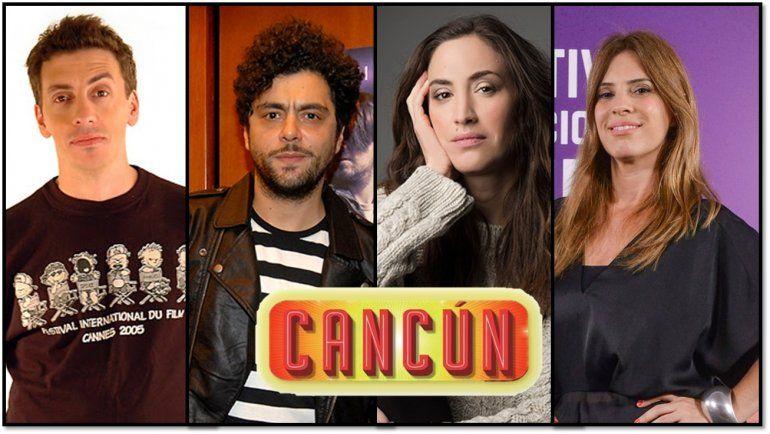 Cancún, la obra éxito en el mundo, llega a Buenos Aires en el 2019, con Suárez, Ajaka, Solda y Scapola