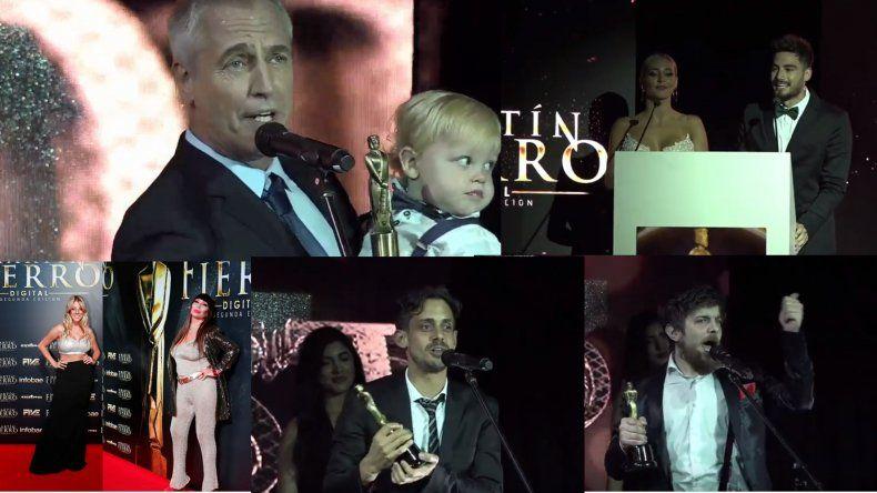 Insólito: se entregaron los Martín Fierro digital y el de Oro se lo llevó Mirko, el hijo de Marley