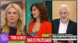 Furioso cruce de Esmeralda Mitre con Carla Conte por el aborto legal y el episodio con Andy Kusnetzoff
