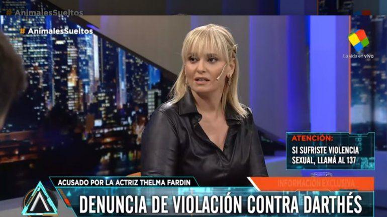 Después de la denuncia contra Darthés, Romina Manguel habló de un acoso que sufrió en Animales Sueltos: Es una  persona muy conocida, padre de familia