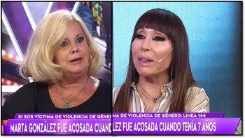 El dramático momento de Marta González