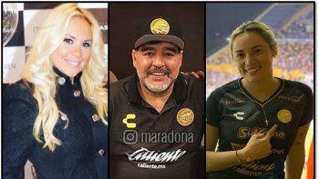 Verónica Ojeda conoce a un hombre justo cuando Maradona está en crisis con Rocío Oliva