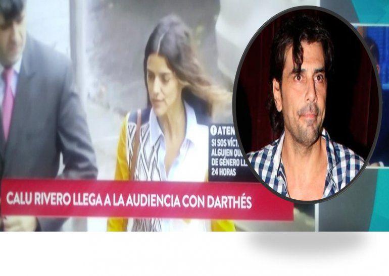 Darthés no se presentó al juicio que le hizo a Calu Rivero: Estoy indignada que no esté