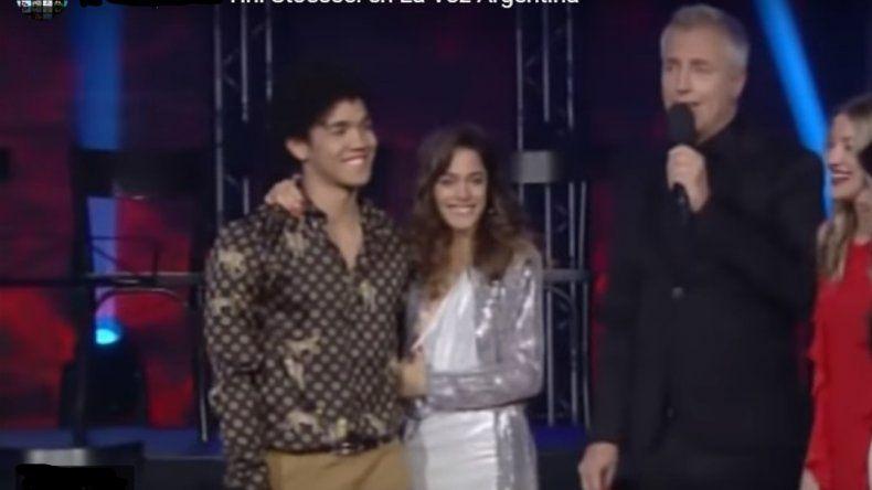 Tini Stoessel protagonizó un blooper en La Voz Argentina: Mirá el video