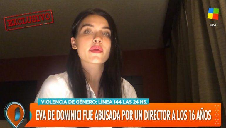 Eva de Dominici denunció a un director de cine que la acosó y obligó a consumir cocaína cuando tenia 16 años: tremendo testimonio
