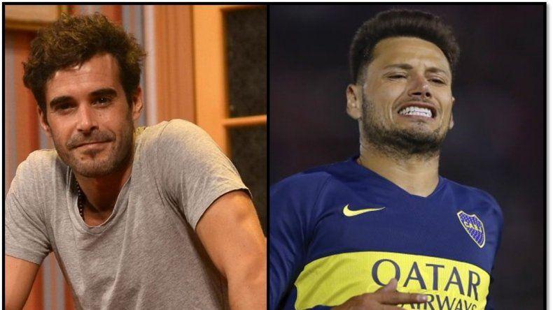 Nicolás Cabré aprovecha una escena para criticar con furia al futbolista Mauro Zárate