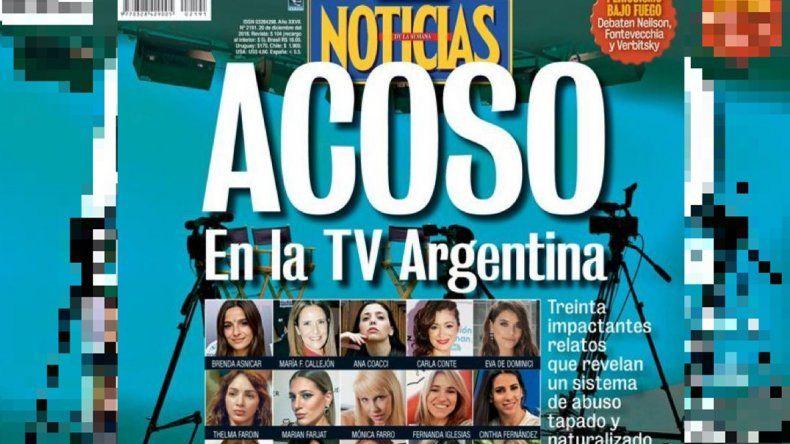 Aparece una tapa con los casos de todas las actrices abusadas en Argentina